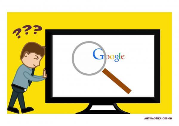 Google kereső - nem találom a weboldalam