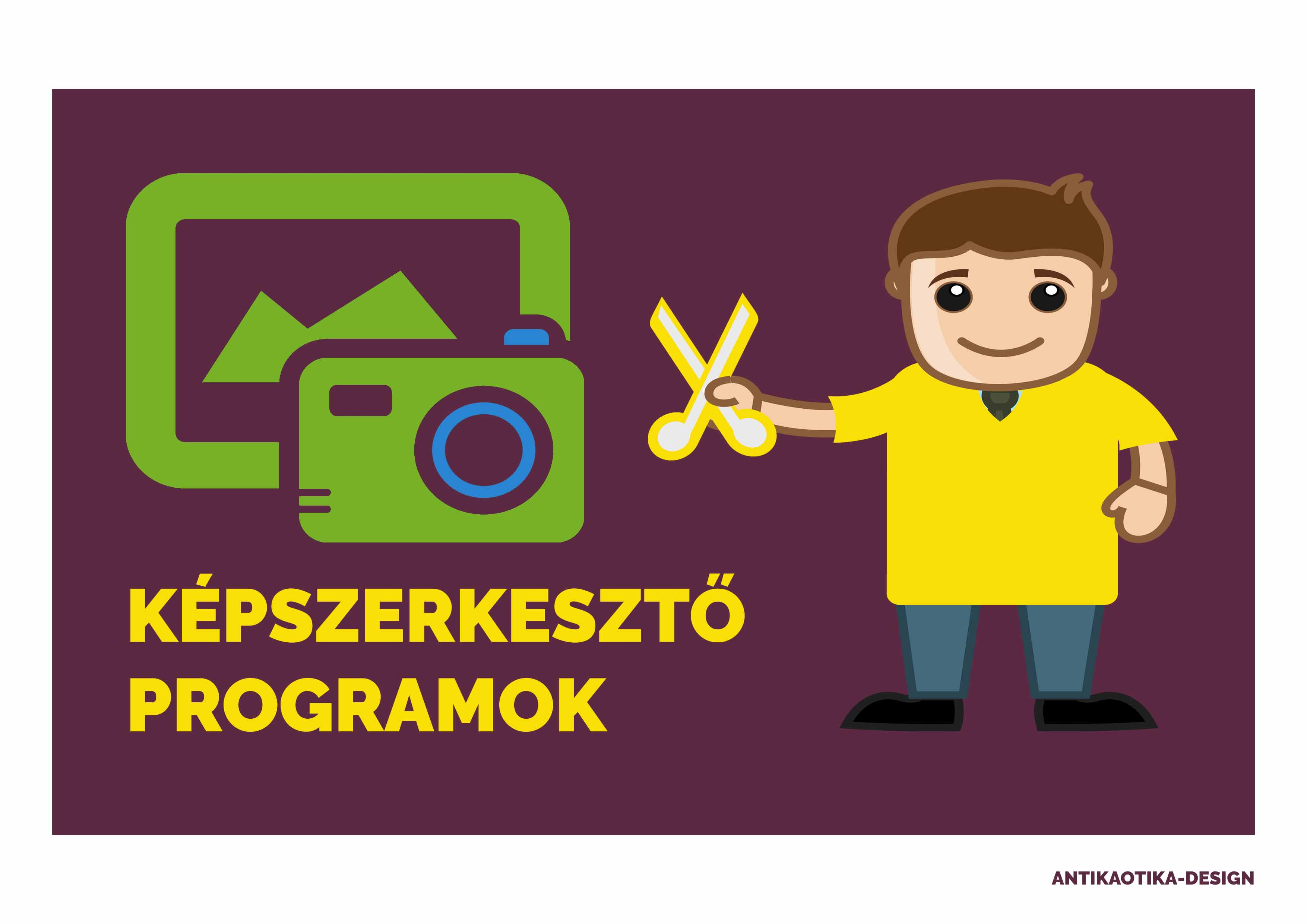 képszerkesztő programok - Antikaotika-SEO