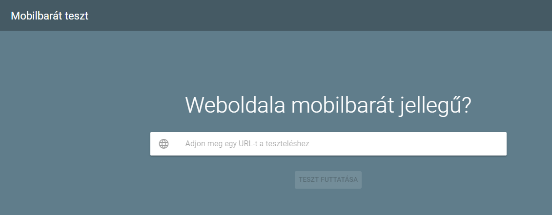 mobilbarát tszt, reszponzív weboldal