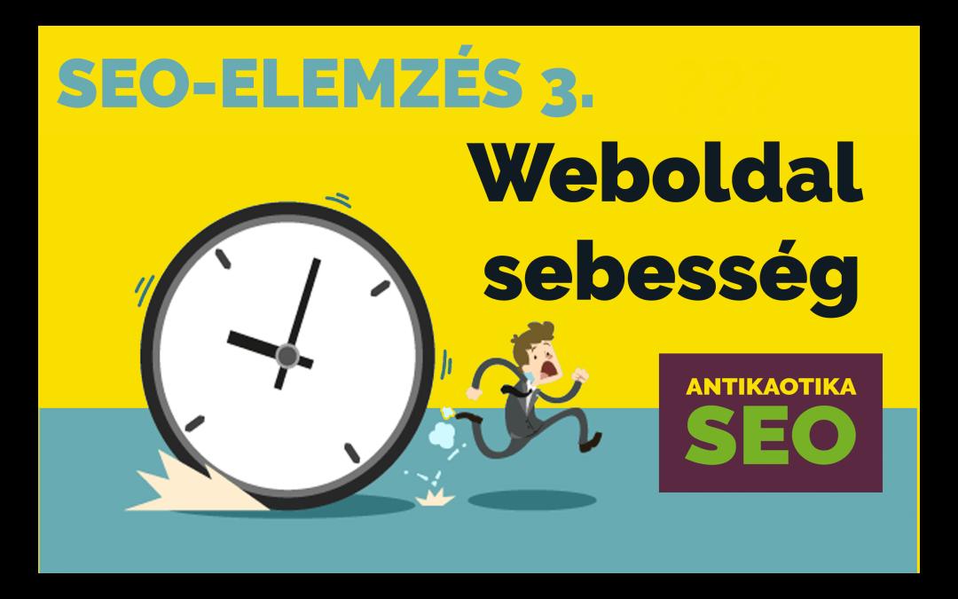 Weboldal sebesség teszt – SEO elemzés 3. 27709408b4