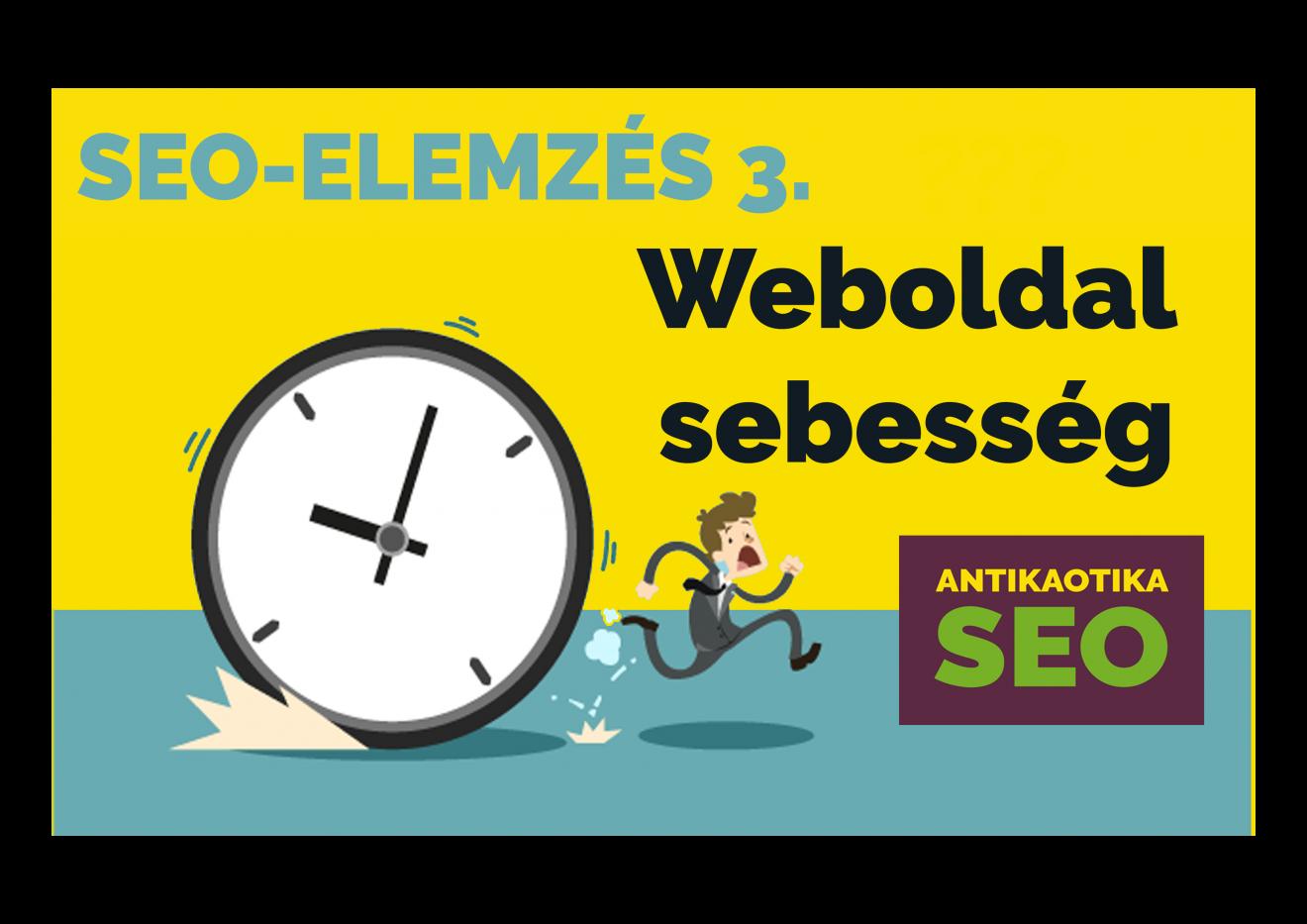 weboldal sebesség teszt, optimaliálás